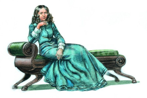 ELIZABETH BARRETT BROWNING-ILLUSTRATION